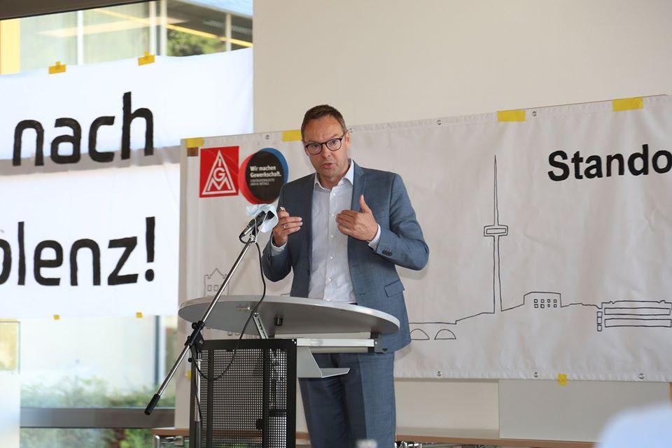 Im Koblenzer ZF-Werk: Arbeitsplätze erhalten!