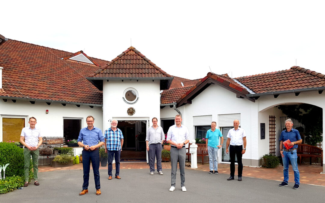 """Dr. Alexander Wilhelm in der Villa Toscana in Kottenheim: """"Beispielgebende Pflege älterer Menschen in der Vordereifel und Rhein-Mosel"""" (Pressemitteilung)"""