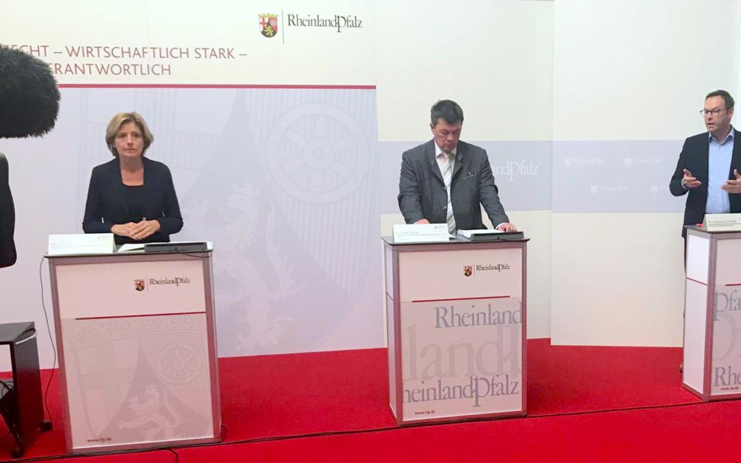 """""""Die Lage ist ernst!"""" – Pressekonferenz mit Malu Dreyer zur Corona-Pandemie"""