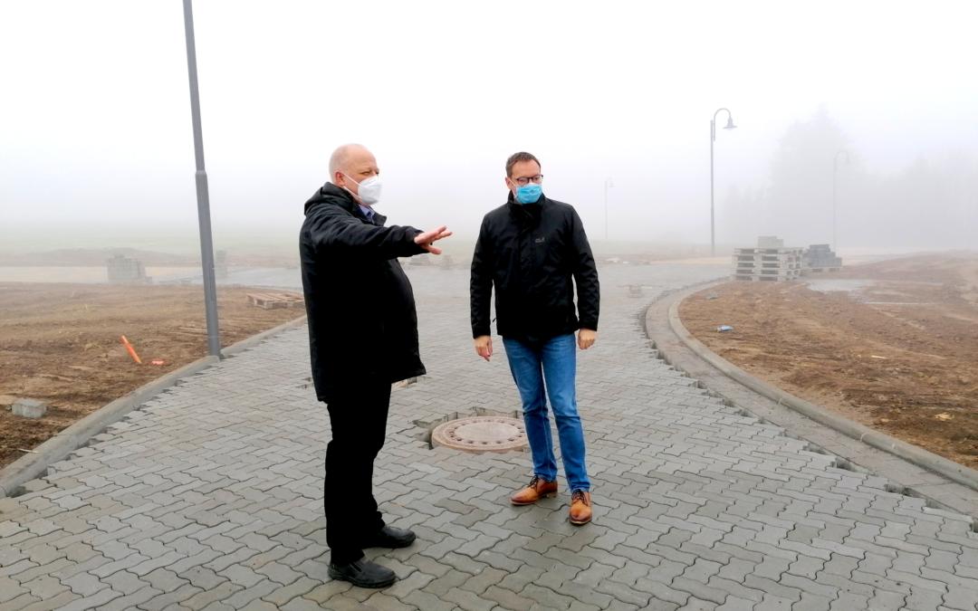 """Dr. Alexander Wilhelm in Alzheim: """"Attraktiver Wohnort benötigt mehr Bauland"""" (Pressemitteilung)"""