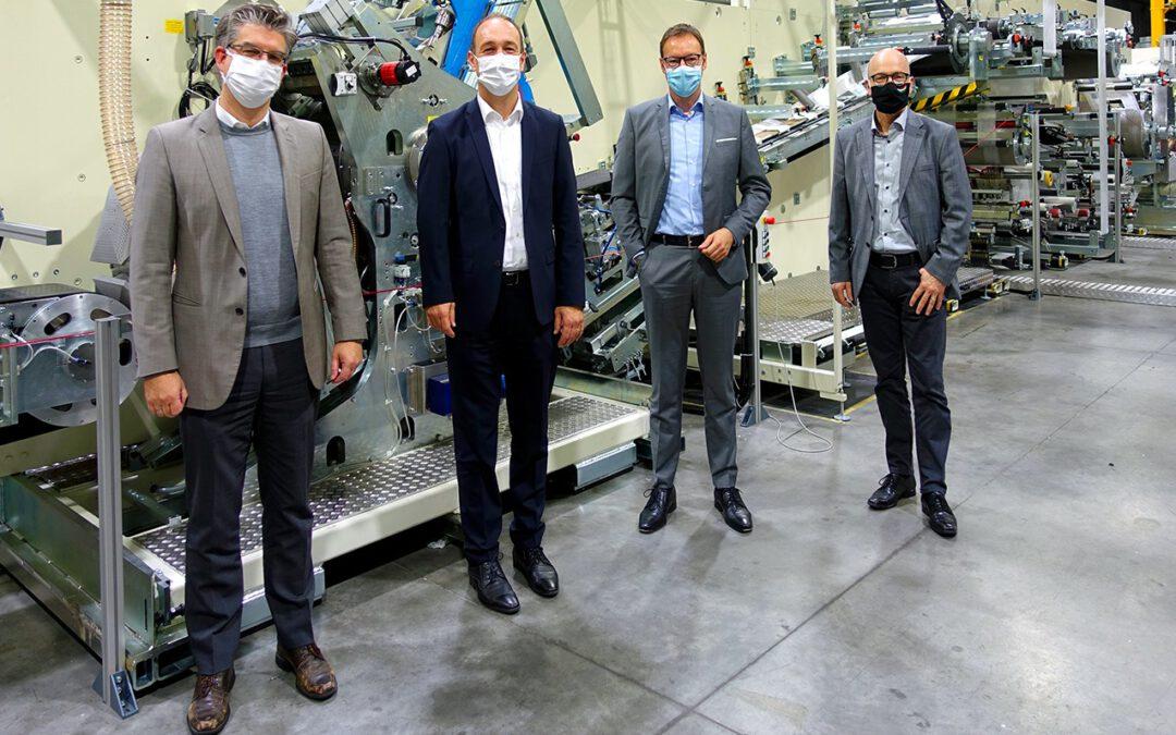 BICMA in Mayen: Die schnellste Maskenmaschine der Welt