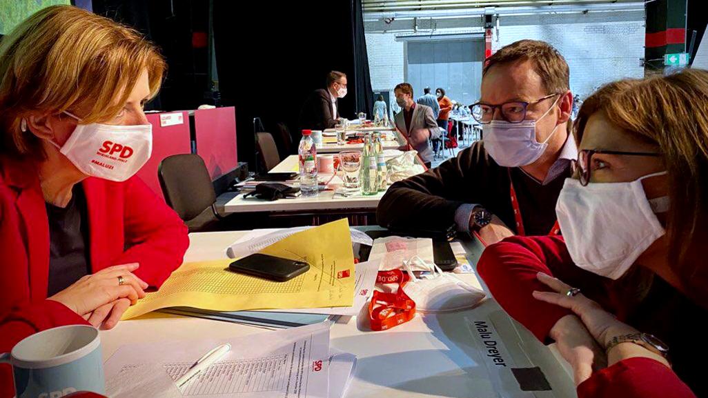 Eindrücke von der SPD-Landesvertreterversammlung in Mainz