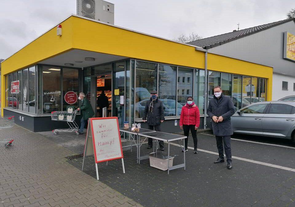 Mampf-Spendensammlung: Mit der SPD Rhens Obdachlose unterstützen