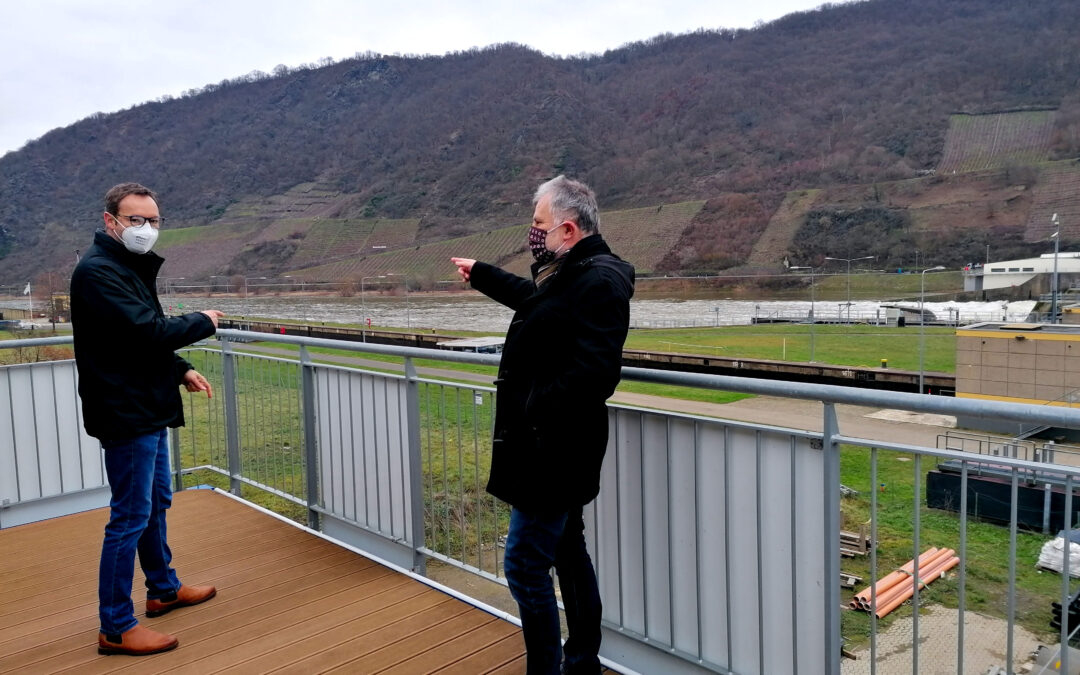Pläne für neues Bürgerhaus und Umgestaltung des Sportplatzes Lehmen begeistern Landtagskandidaten (PM)
