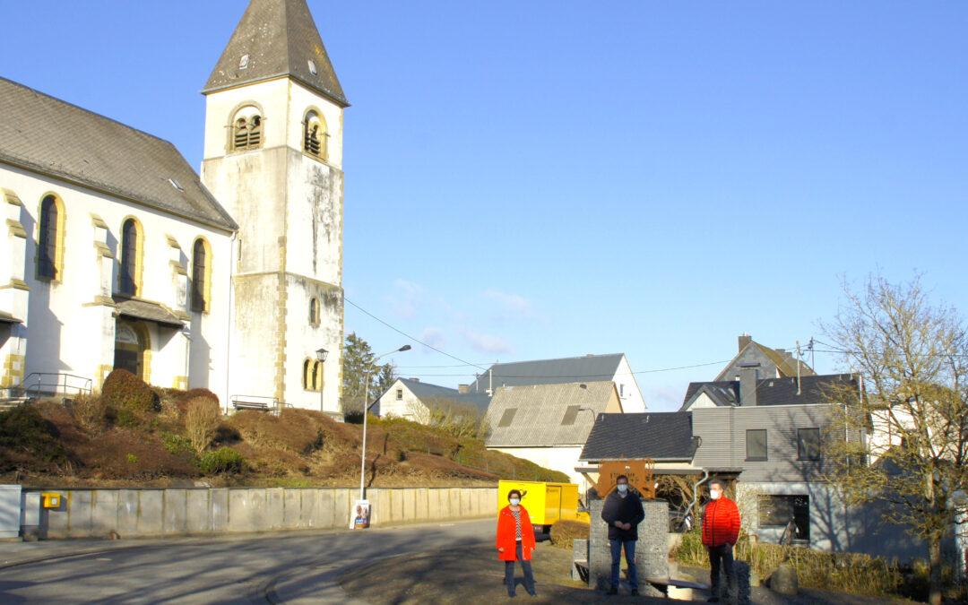 Vom großen ehrenamtlichen Engagement in Kirchwald begeistert (PM)