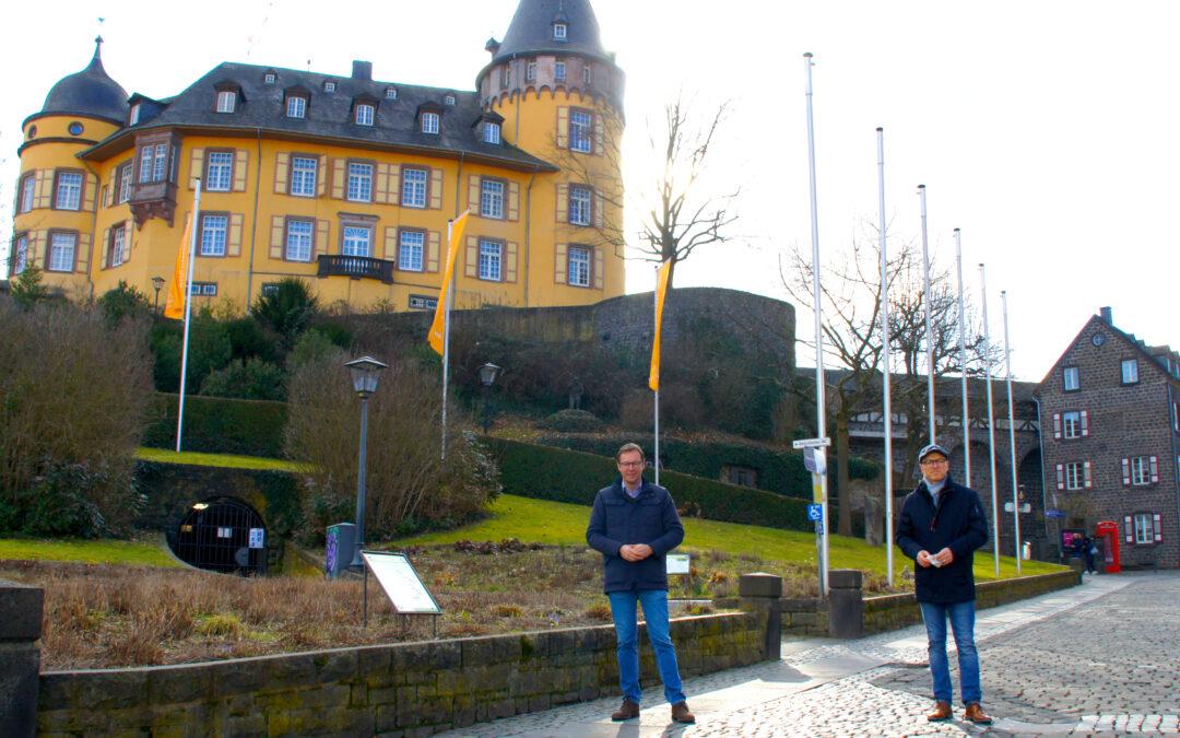 Mit Dirk Meid und Thorsten Rudolph in Mayen für lebendige Innenstädte